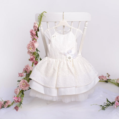Flower Girl Dress & Hairband - Charlotte