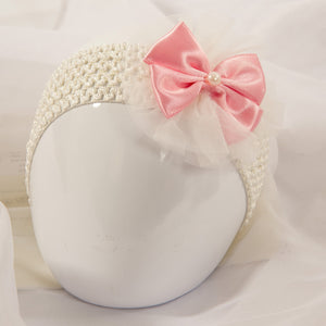 Single Tutu Hair band - Pink Pearl