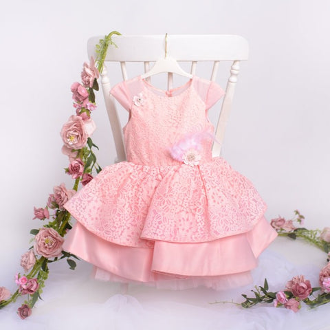 Flower Girl Dress & Hairband - Felicity