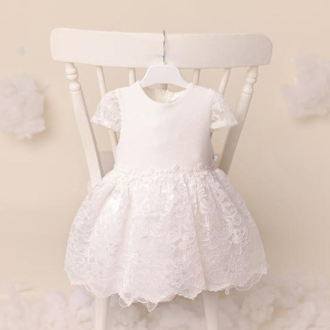 Ky Ky Kids Molly White Lace Dress