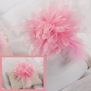 Pink feather Hairband Gift Set - 2 pack