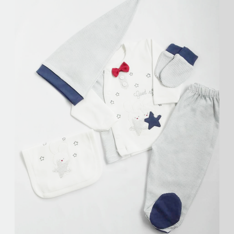 kykykids boys good night sleepsuit