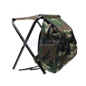 2 in 1 Backpack with Foldable Seat