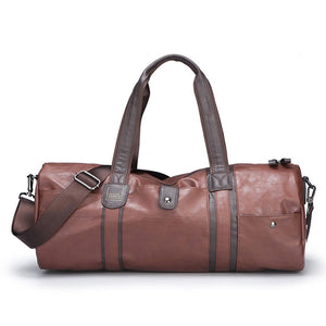 Vintage Leather Travel Duffel Bag - 3 Colours