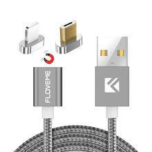 Magnetic Charging Cable for Iphone and Android - 1 Meter