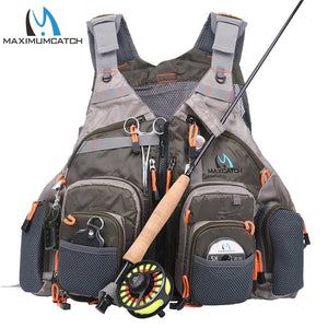 Fishing Vest With Multifunction Pockets