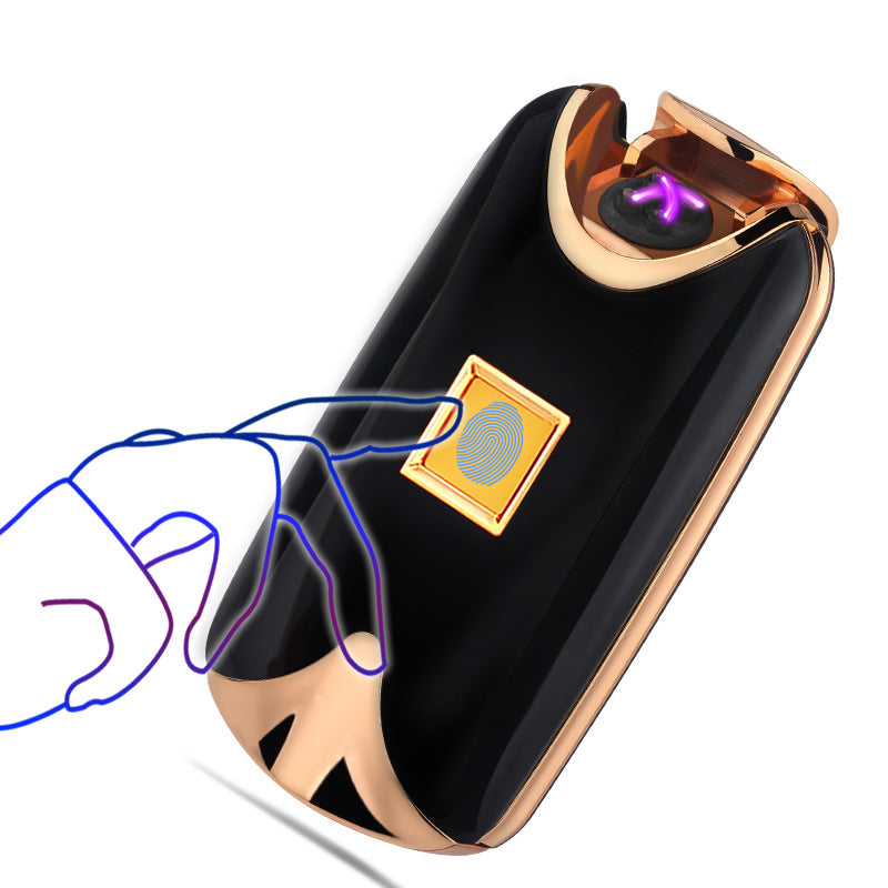 USB Rechargeable Fingerprint Plasma Lighter