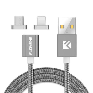 Gray Magnetic Charging Cable