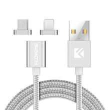 Silver Magnetic Charging Cable