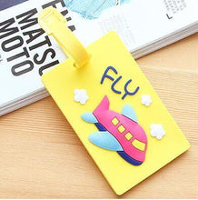 Cartoon Fun Luggage ID Tags