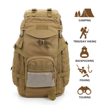 60L Waterproof Tactical Military Rucksacks