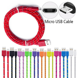 Nylon Braided Micro USB Cable