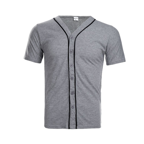 Men T Shirt with Button