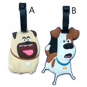 Cute Pets Luggage Tag