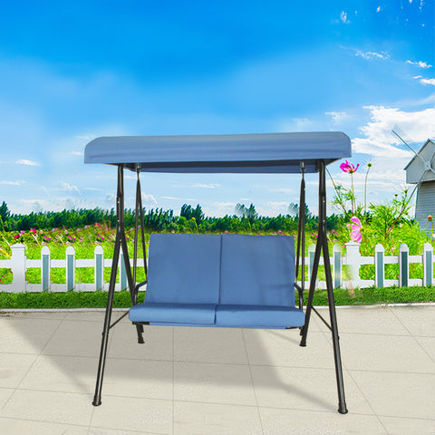 2 Seater Swing Blue