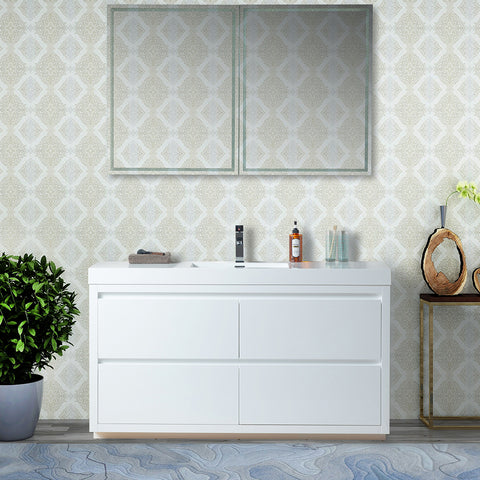 "60"" Single Bathroom Vanity Set"