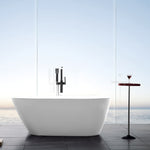 "67"" x 31.5"" Freestanding Acrylic Bathtub 