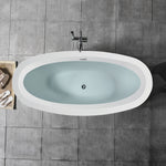 "69"" x 32"" Freestanding Acrylic Bathtub 