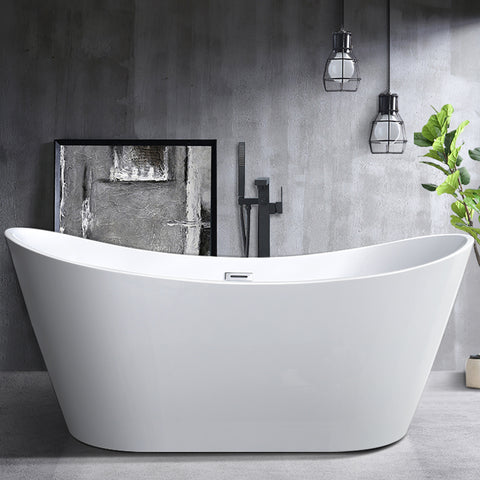 "71"" x 31.5"" Freestanding Acrylic Bathtub 