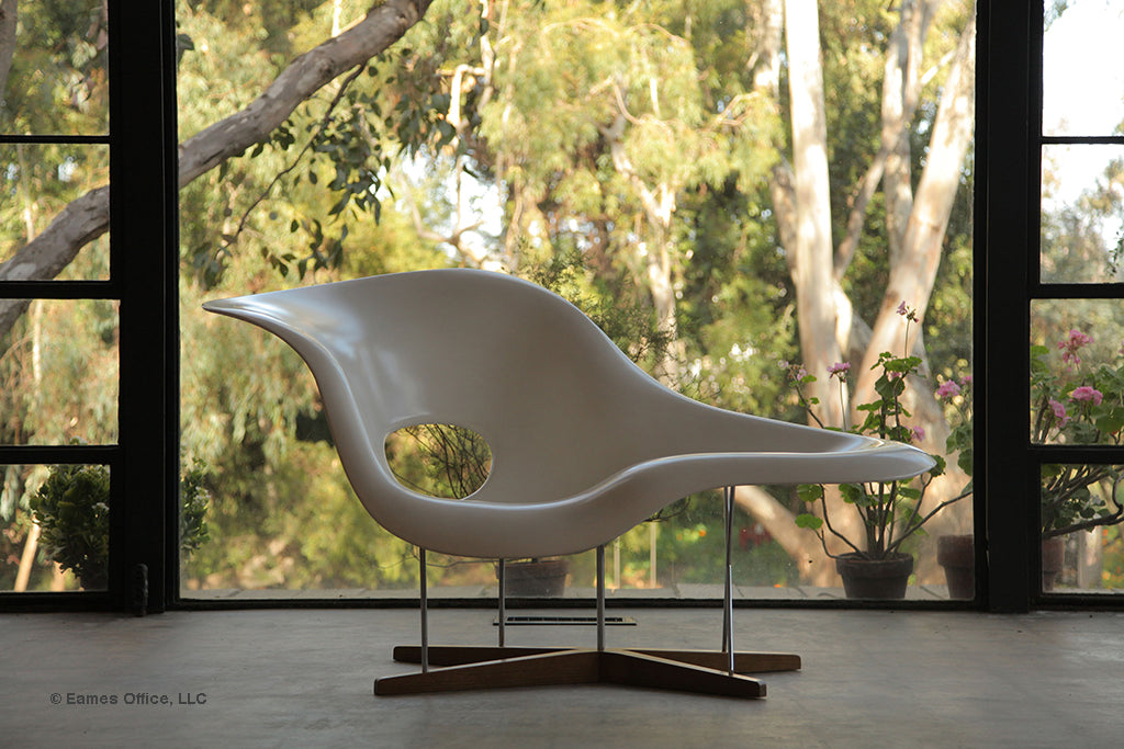 La Chaisse designed by Ray Eames