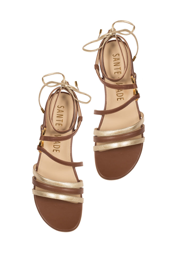 DAHLIA SANDAL BROWN