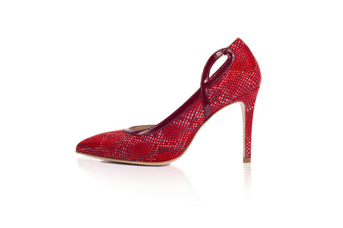 Mori Pump in Red