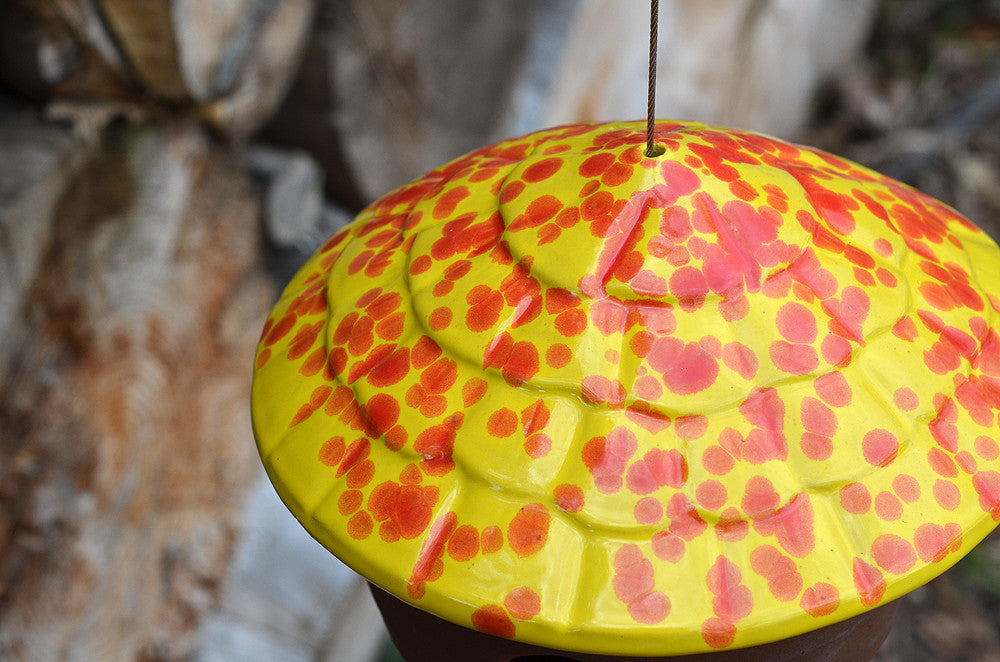 Gourd Birdhouse Cherry Bomb The Color Patch
