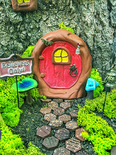 Fairy Door - Plum Scrumptious - 3
