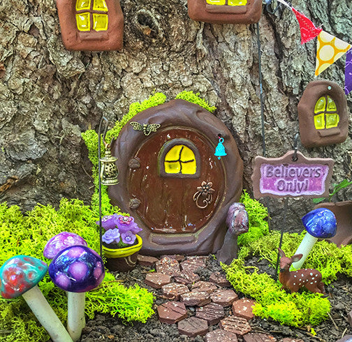 Fairy Door - Plum Scrumptious - 5