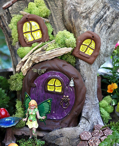 Fairy Door - Plum Scrumptious - 6