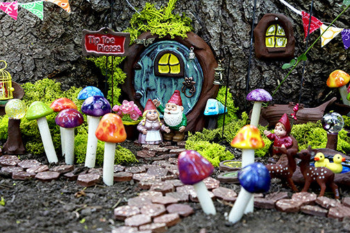 Fairy Door - Plum Scrumptious - 8