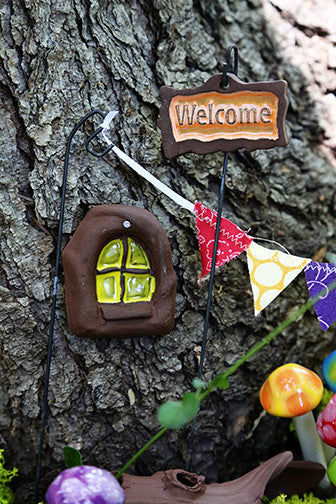 Fairy Door - Plum Scrumptious - 7