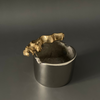 Black - Leather Tray - Set of 2
