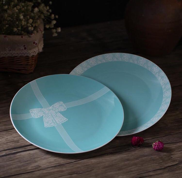 Bow Plates Plates - Set of 2/4