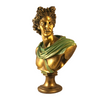 Apollo Bust Sculpture in Bronze