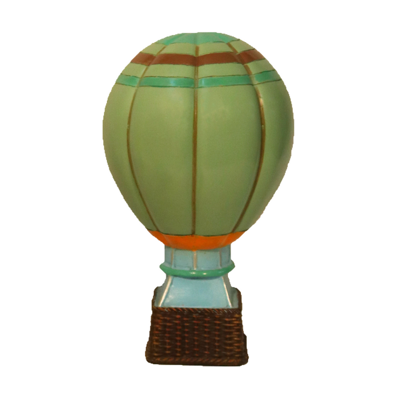 Hot Air Balloon - Olive Green