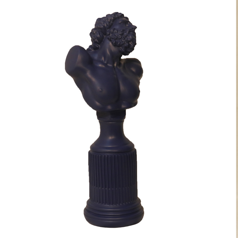 Hercules Bust Sculpture - Purple