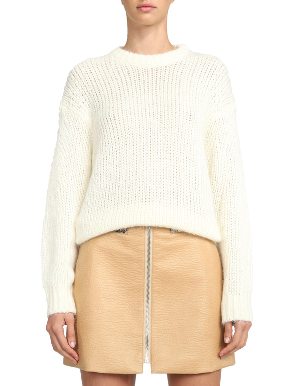 Tilda Knit Off White