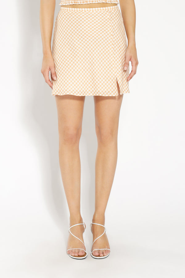 MIA GINGHAM SKIRT
