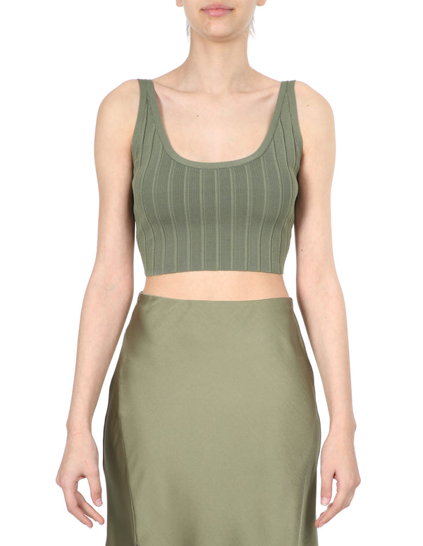 Lulu & Rose Quinn Knit Top Green