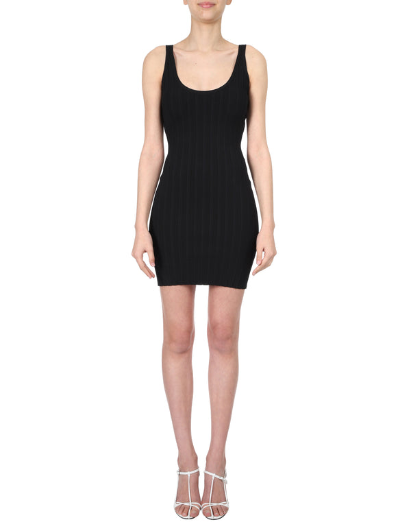 Lulu & Rose Quinn Knit Dress Black