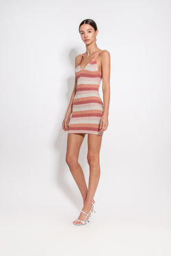 Britt Stripe Knit Dress