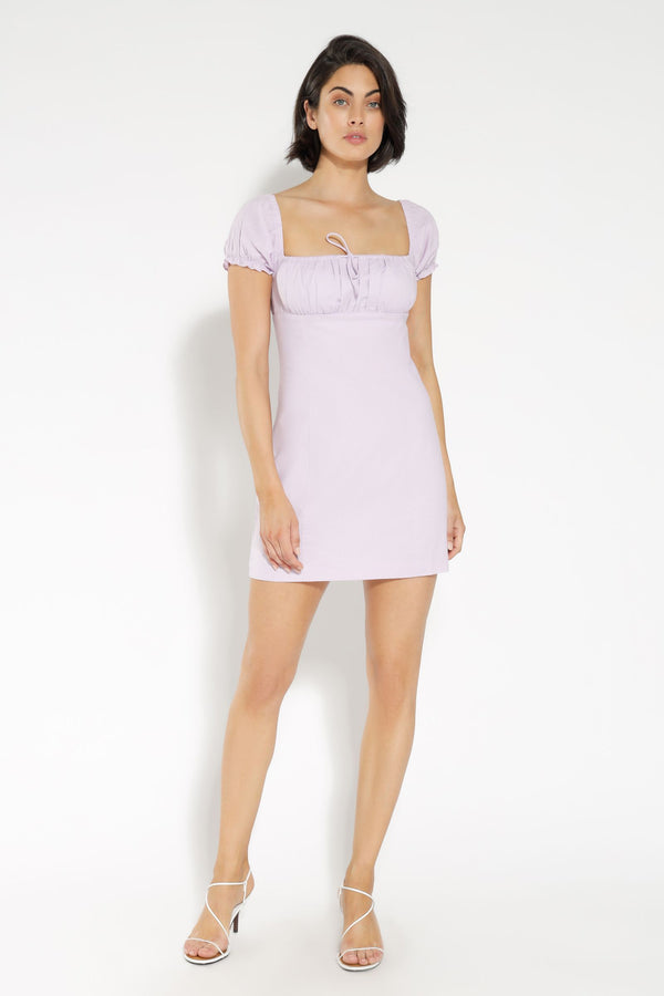 RAE LINEN MINI DRESS