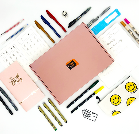 The Pencil Box Lettering First-Aid Kit Stationery Bundle