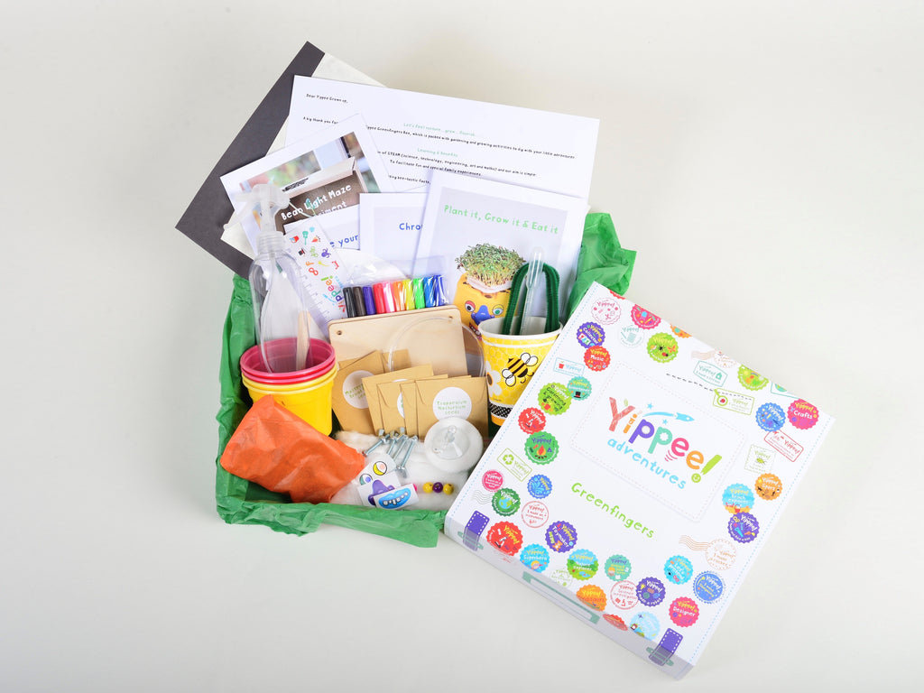 New adventure every other month for a Year!  12 month subscription - Pre-paid for 6 gift boxes