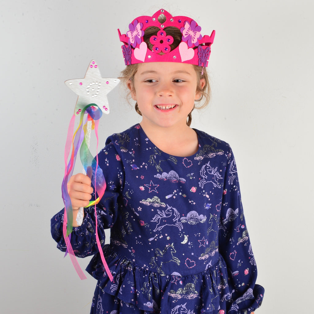 Design your own Magical Fairy Princess wand and bag