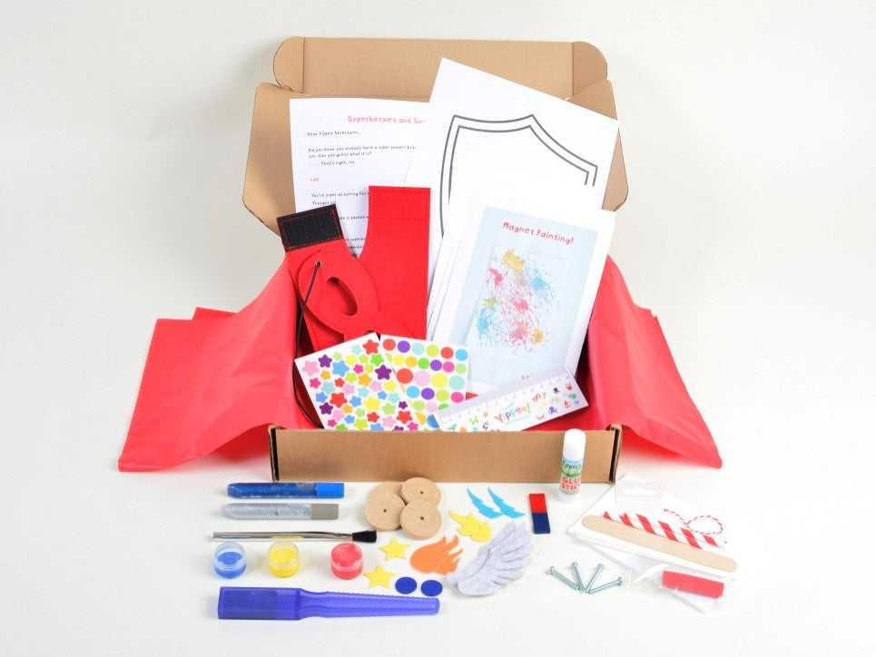 Superheroes & Superpowers Bumper gift box