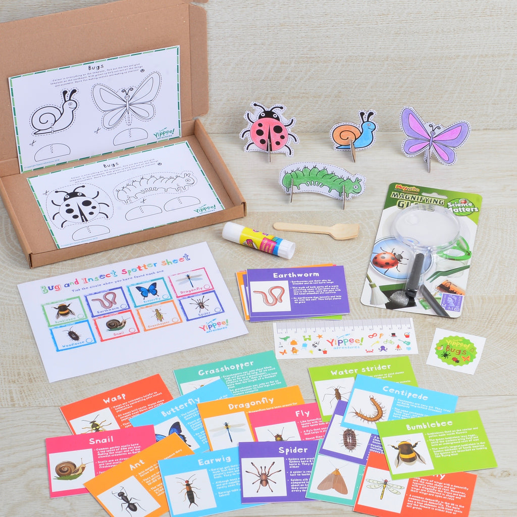 New adventure every other month for 12 months - 6 mini gift boxes (10% saving plus Yippee poster)
