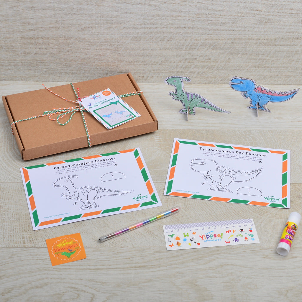 Create your own Grrr Dinosaur adventure