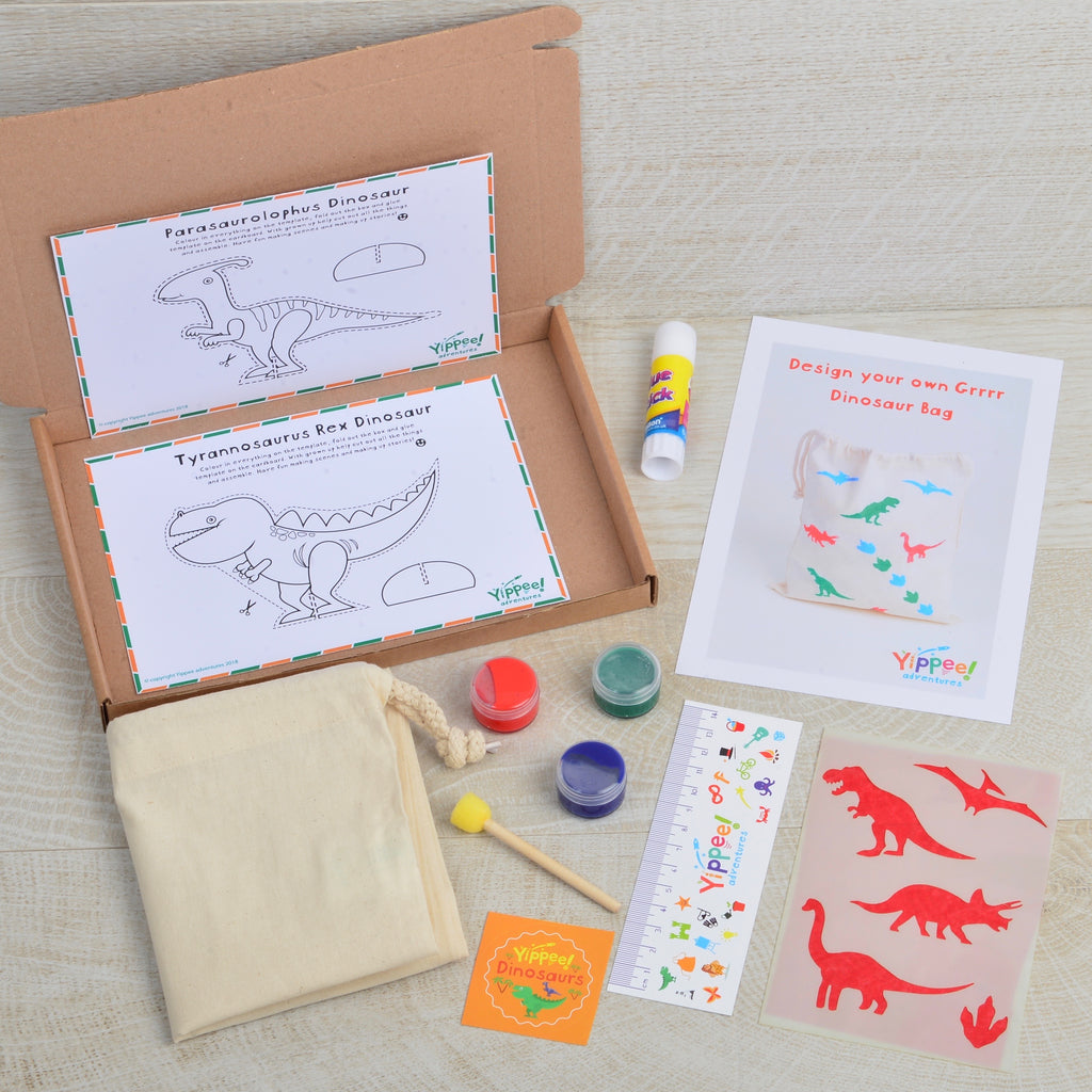 Design your own Grrr Dinosaur Bag